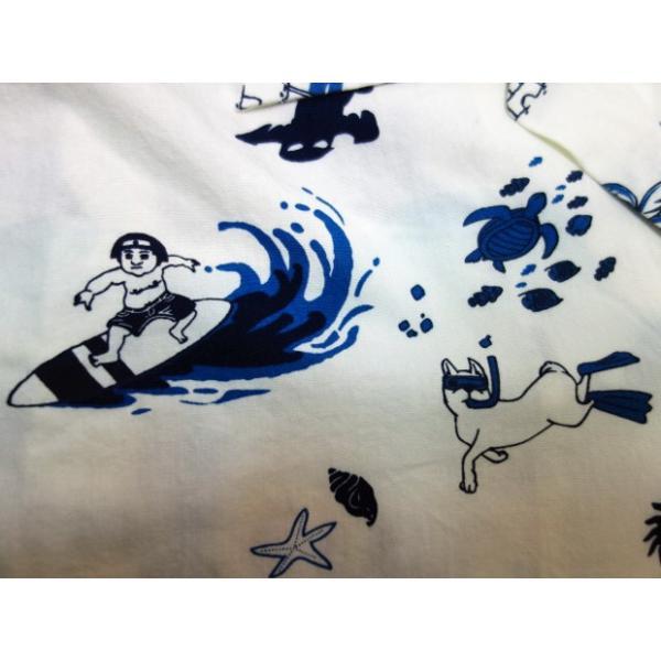 桃太郎ジーンズ アロハシャツ 06-091 moveclothing 05