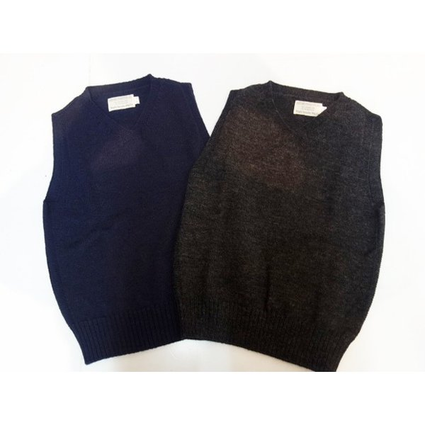 TROPHYCLOTHING トロフィークロージング ベスト RED CROSS KNIT VEST|moveclothing