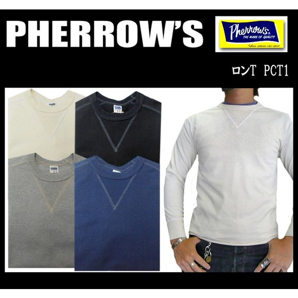 PHERROW'S フェローズ ロンT PCT1|moveclothing