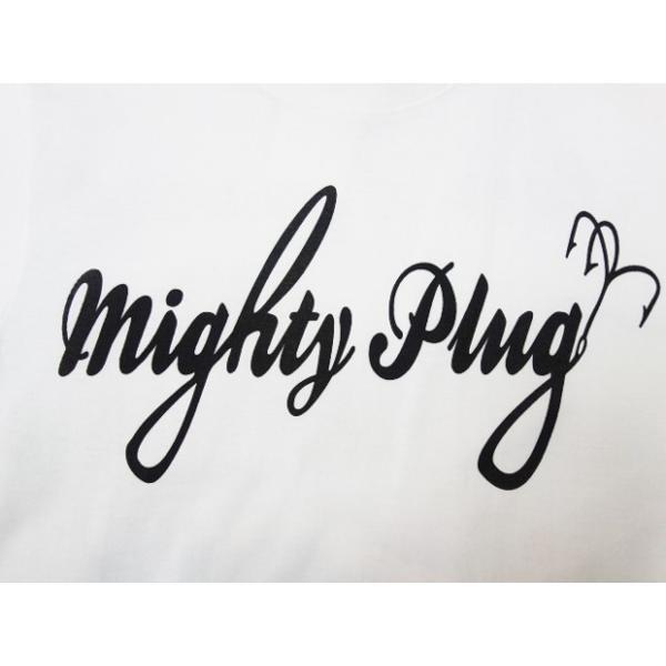 """MIGHTY'S マイティーズ Tシャツ """"MIGHTY PLUG・琵琶湖一周バス釣りTシャツ"""