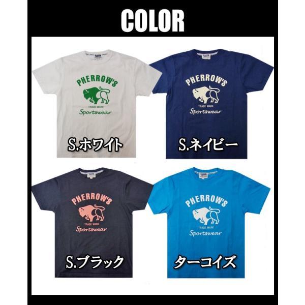 PHERROW'S フェローズ Tシャツ 18S-PT2|moveclothing|03