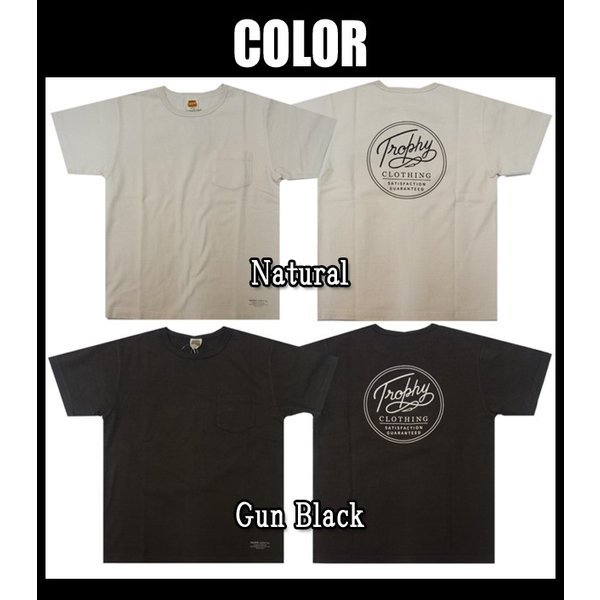 TROPHY CLOTHING トロフィークロージング Tシャツ Circle OD Pocket Tee|moveclothing|03