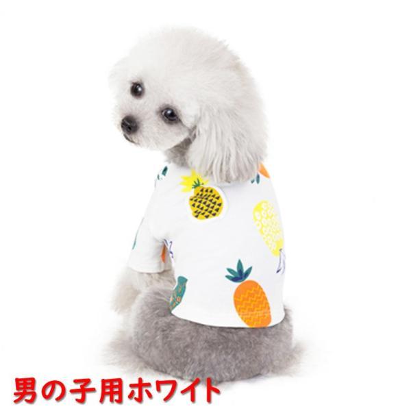 犬 犬服 犬の服 女の子用 男の子用 ワンピース スカート パイナップル かわいい dcos0029|mowmow0731|05