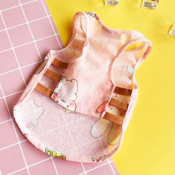 犬服 夏用 小型犬用 Tシャツ タンクトップ 涼しい どうぶつ おしゃれ ペット服 インスタ dt0108|mowmow0731|05