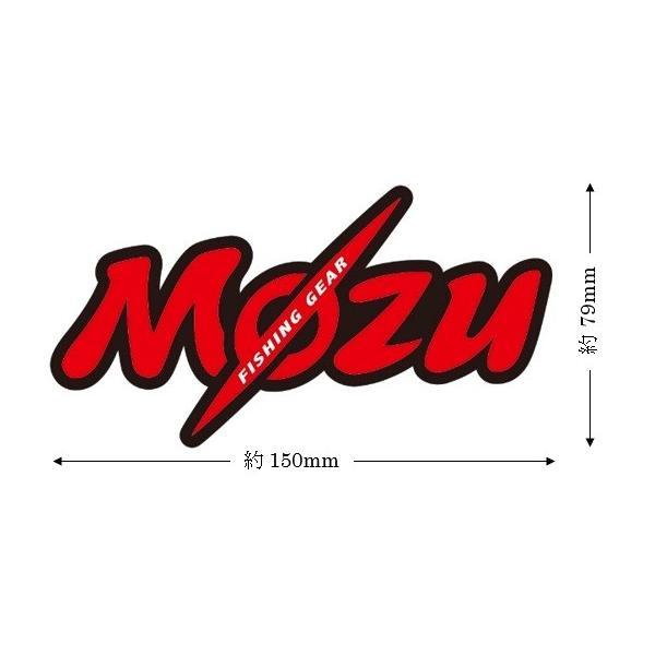 Mozuオリジナルステッカー mozu-fishing 02