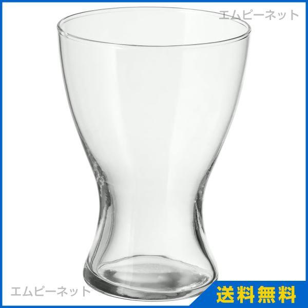 IKEA イケア 花瓶 クリアガラス 20cm ヴァーセン VASEN