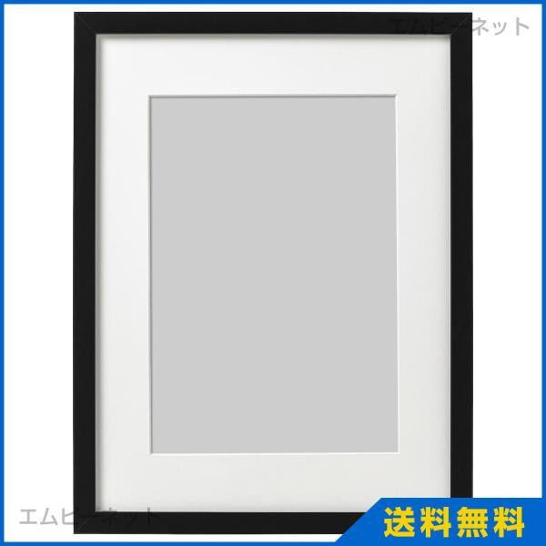 フレーム ブラック 写真立て 壁掛け 30x40cm リッバ RIBBA