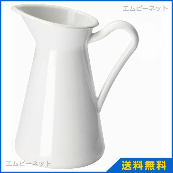 IKEA イケア 花瓶 ホワイト 16cm ソッケルエールト SOCKERART
