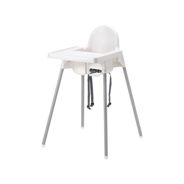 RoomClip商品情報 - IKEA イケア ANTILOP ハイチェア トレイ付き シルバーカラー (490.674.85)