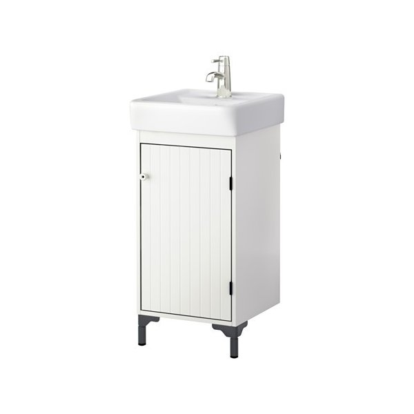 IKEA イケア SILVERAN / HAMNVIKEN 洗面台 扉1枚 ホワイト (690.228.15)