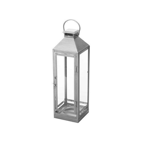 RoomClip商品情報 - IKEA/イケア LAGRAD ブロックキャンドル用ランタン 室内/屋外用, シルバーカラー (703.272.93)
