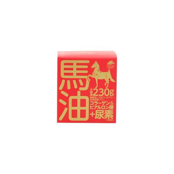 【ユニマットリケン】 馬油クリーム+尿素 230g ◆お取り寄せ商品