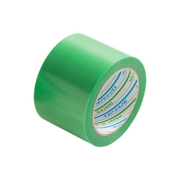 Y-09-GR75 バイオラン塗装養生テープ 75mm×25m 緑 まつうら工業