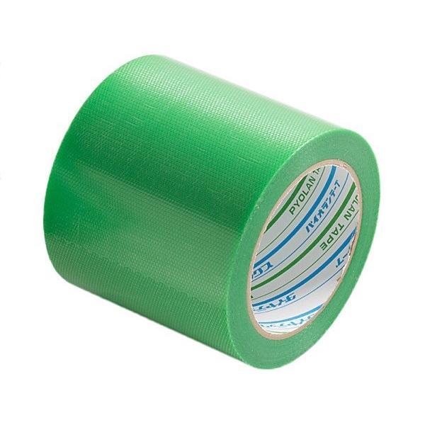 Y-09-GR100 バイオラン塗装養生テープ 100mm×25m 緑 まつうら工業