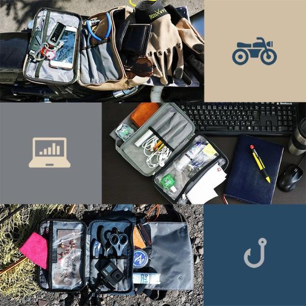 ボディバッグ ショルダーバッグ 財布 ミニ コンパクト 軽量  メンズ レディース 旅行 斜め掛け サコッシュTOneontoNE(予約販売) mr-lunberjack 03