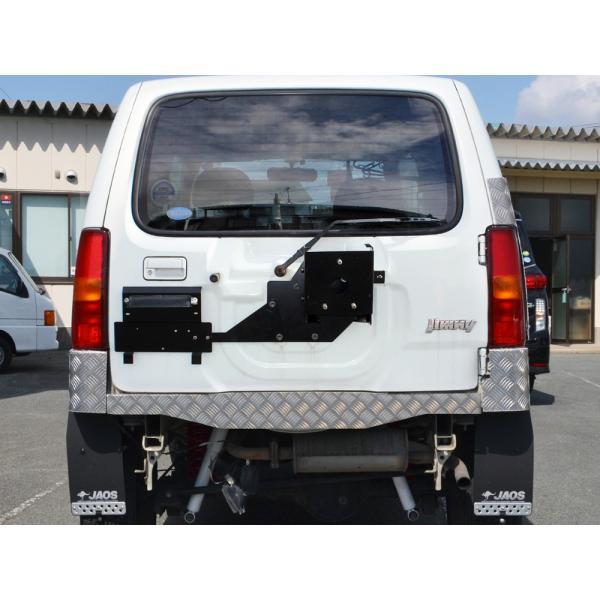 ジムニー JB23W JB33W JB43W スペアタイヤ移動キット ブラケット 背面 リア リヤ タイヤアップ 改造|mr-store|03