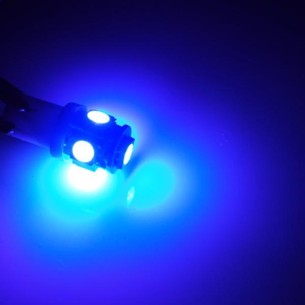 T10 T16 LED ポジションランプ ナンバー灯 5SMD 2個セット mr-store 05