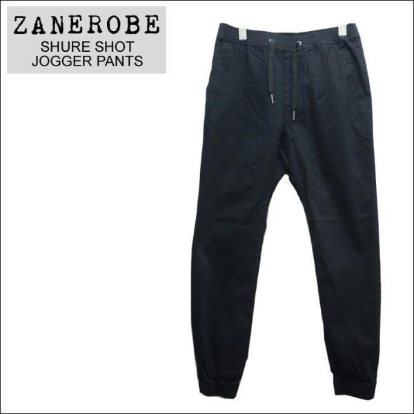 ZANEROBE ゼインローブ ジョガーパンツ SHURE SHOT JOGGER PANTS ブラック 黒 BLACK|mr-vibes|04