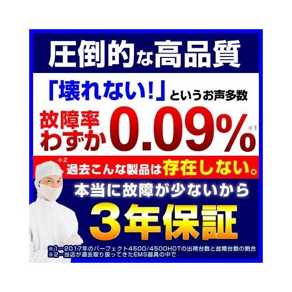 パーフェクト4500 emsマシン 干渉波 ダイエット 腹筋 ウェスト 筋トレ 日本製 EMS mrock 15