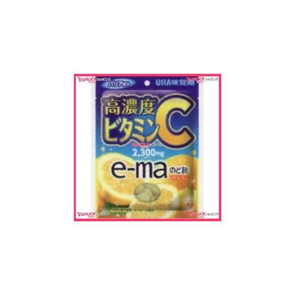 YCxユーハ味覚糖 50G イーマのど飴袋VCレモン×72個 +税 【x】【送料無料(沖縄は別途送料)】