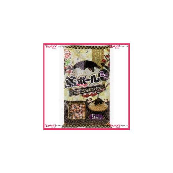 YCx植垣米菓 91G鶯ボールミニ黒蜜きなこミックス×24個 +税 【xw】【送料無料(沖縄は別途送料)】