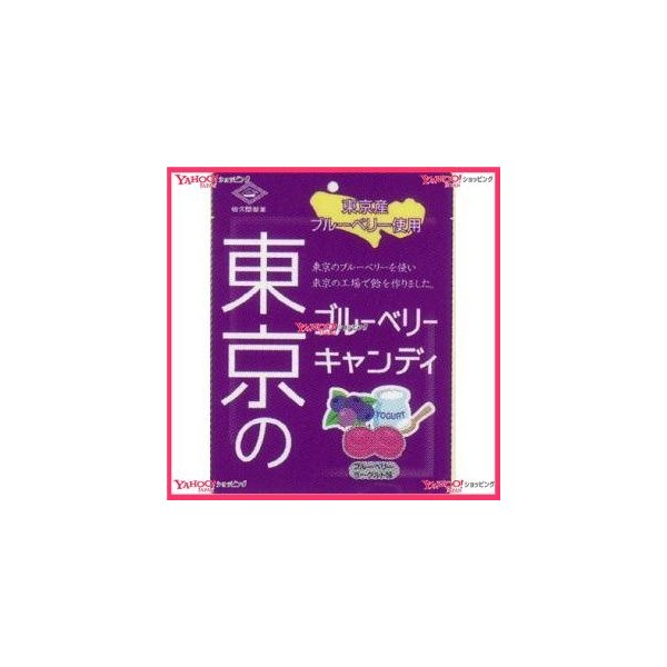 YCx佐久間製菓 65G 東京のブルーベリーキャンディ×192個 +税 【xr】【送料無料(沖縄は別途送料)】