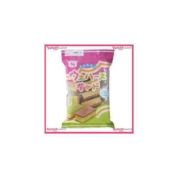 YCx戸田屋 7個ウエハースサンド×18個 +税 【xw】【送料無料(沖縄は別途送料)】