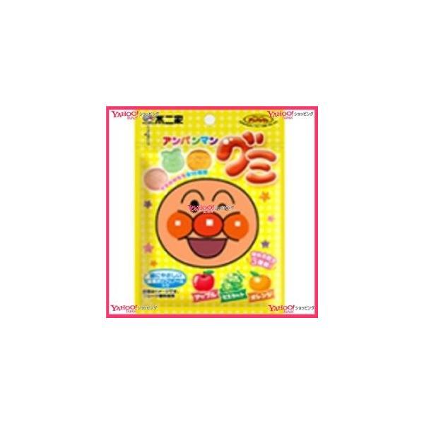 YCx駄菓子 不二家 アンパンマングミ×10個 +税 【駄xima】【メール便送料無料】