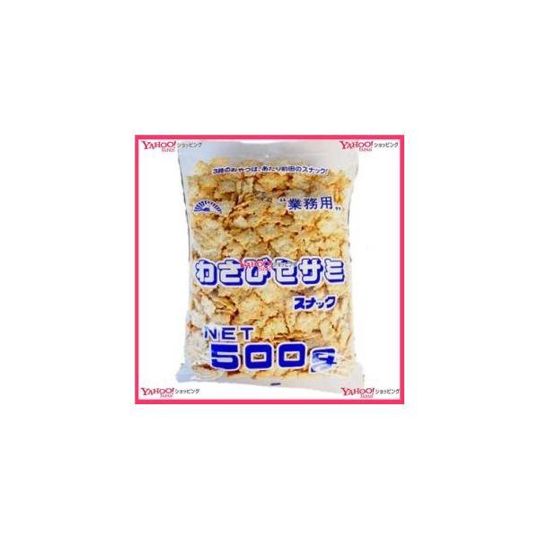 YCx前田製菓 500Gわさびセサミ×10個 +税 【xeco】【エコ配 送料無料 (沖縄 不可)】