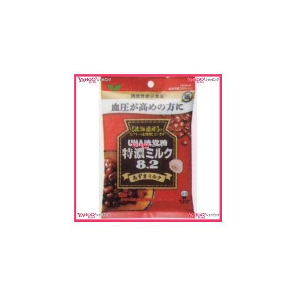 YCxユーハ味覚糖 93G 機能性表示食品特濃ミルク8.2あずきミルク×144個 +税 【xw】【送料無料(沖縄は別途送料)】