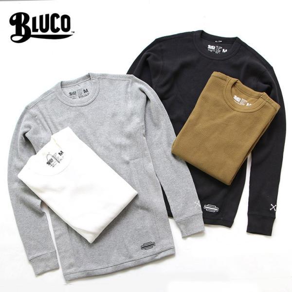 ブルコ BLUCO WORK GARMENT OL-014-018 2パックサーマルシャツ 2PAC THERMAL SHIRTS セットイン|mroldman
