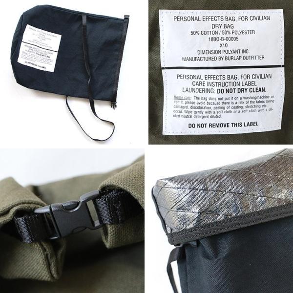 BURLAP OUTFITTER バーラップアウトフィッター 巾着バッグ パーソナルエフェクトバッグ|mroldman|05