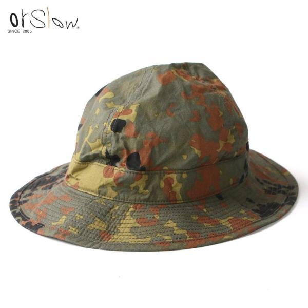 オアスロウ or slow 03--001 ハット US NAVY HAT ドットカモフラージュ|mroldman