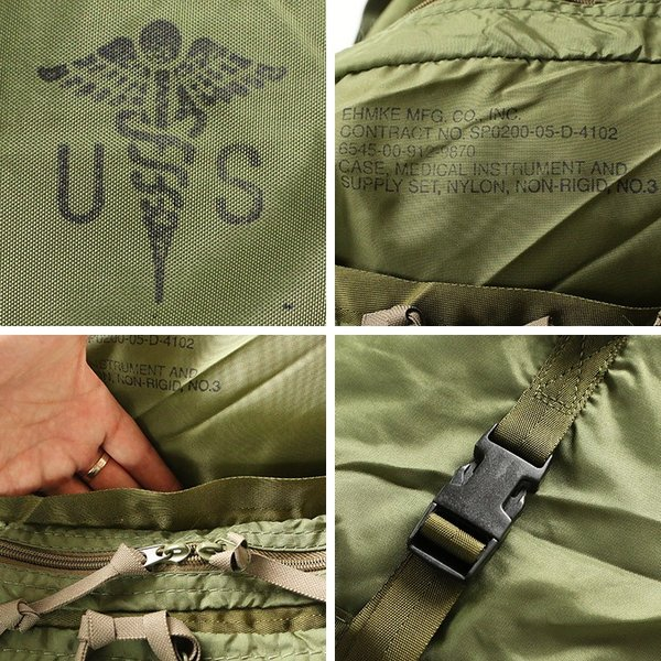アメリカ軍 メディカルバッグ US MEDICAL BAG デッドストック|mroldman|06