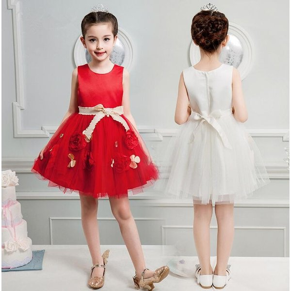ecd27f6201703 新品 子供ドレス ピアノ発表会 結婚式 フォーマル キッズ 女の子 七五三 パーティードレス ジュニアドレス ...