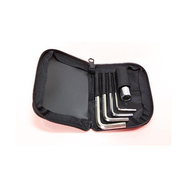 スノースクートSNOWSCOOTの携帯用ツールセット&パスケース mshscw4