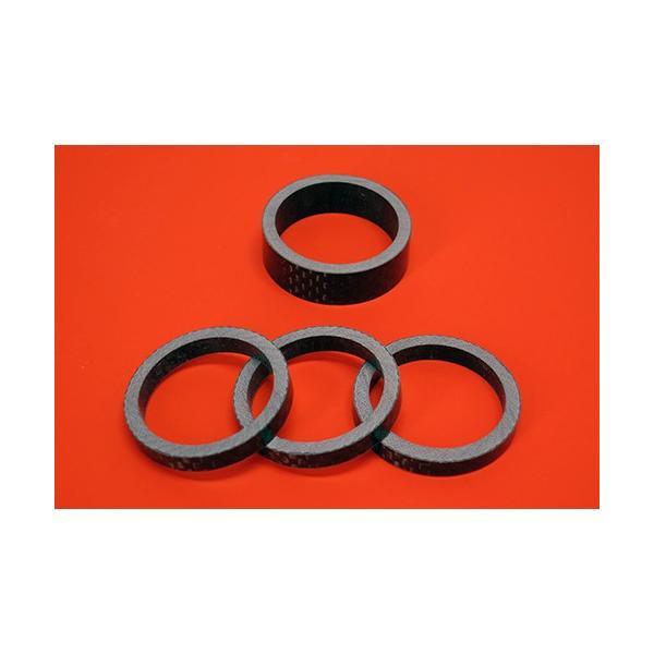 スノースクートSNOWSCOOTコラムシャフト用カーボン製カラーセット 平織カーボンカラー|mshscw4