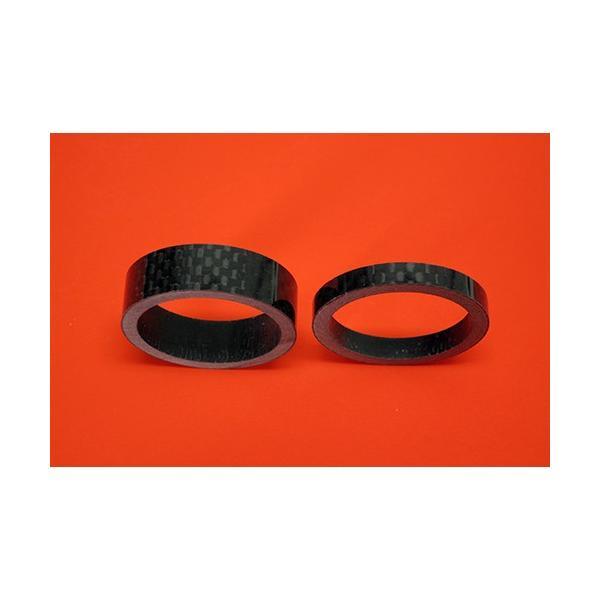 スノースクートSNOWSCOOTコラムシャフト用カーボン製カラーセット 平織カーボンカラー|mshscw4|02