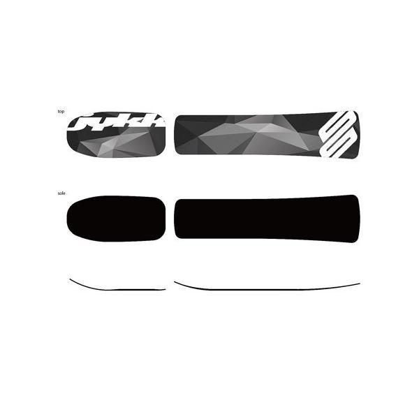 スノースクートONE-DワンデーA1ミディアムボード仕様SNOWSCOOTエメラルドグリーンカラーKIT(未組立キット)品ONE-Dハイエンドボードセット品|mshscw4|02