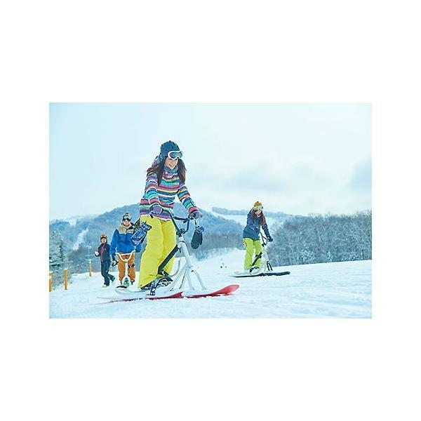 スノースクート ONE-D ルミナスイエロー 未組立キット品 SNOWSCOOT ネオンイエロー|mshscw4|03