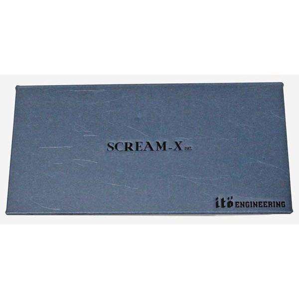 メガバス スクリーム X 2本セット Megabass SCREAM-X SINGLE SWISHER ハンドメイド ルアー トップウォーター ITO ENJINEERING SET 新品