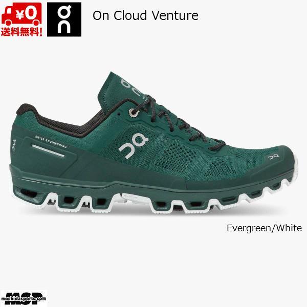 オン クラウド ベンチャー トレイルランニングシューズ エバーグリーン トレラン On Cloud venture Evergreen Whiteck 2299621