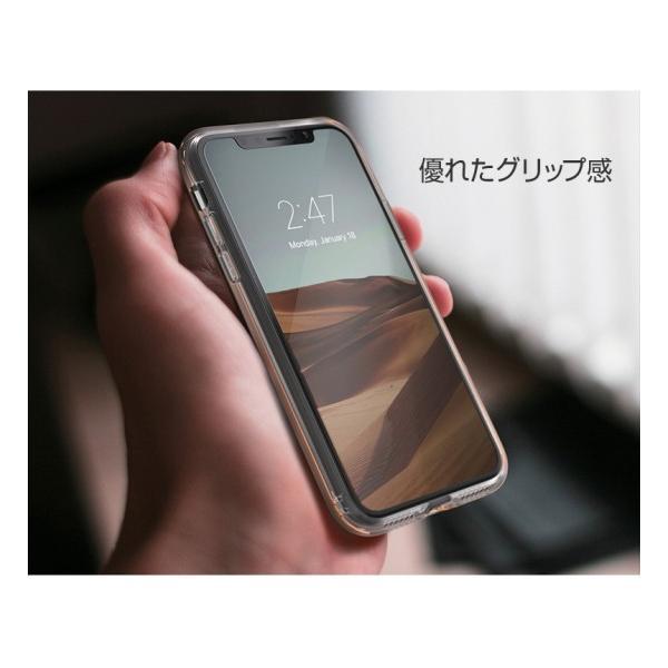 672e5eaaa9 ... <motomo>【iPhone XR 6.1インチ】 INFINITY CLEAR CASE 透明なソフトクリア ...