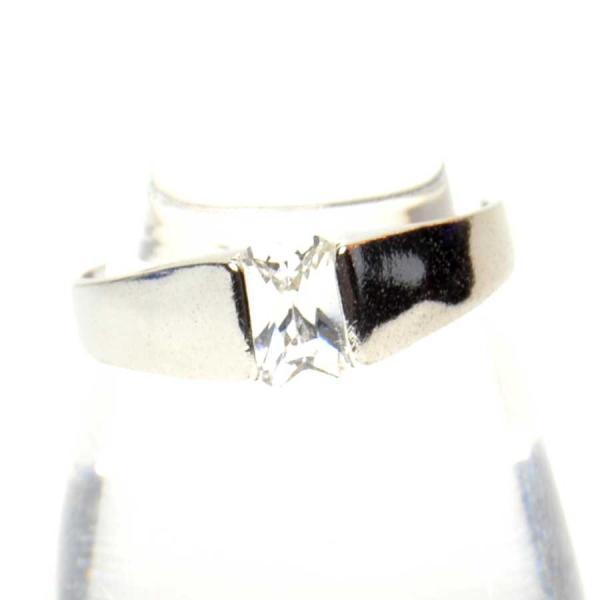 ラインストーン付き デザイン リング 指輪 レディース アクセサリー h-re634