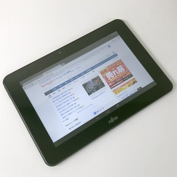 富士通 10.1型IPS高精細 Android タブレット Arrows Tab M504/HA4 上位4コアCPU 16G搭載 無線 Bluetooth カメラ HDMI|mssk|03
