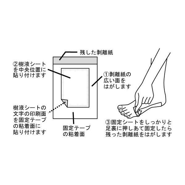 足 すっきりシート 足裏シート 樹液シート とうがらし 20枚 日本製 足裏ほかほか樹液シート 唐辛子入り むくみ ふくらはぎ フットケア (101084)(ms) msstore-1147 07