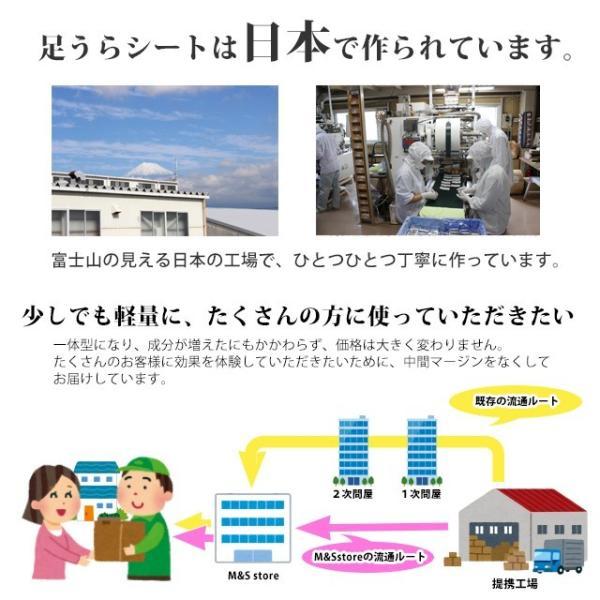 足裏シート 樹液シート よもぎパウダー 30枚 日本製 送料無料 (101093)(ms) msstore-1147 11