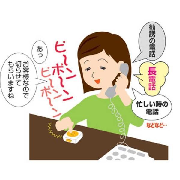 迷惑電話お断りピンポン 迷惑電話対策 音量切替 ダミー用チャイム アイデア商品 偽装ピンポン 送料無料 APY-105 GT811602 (210696)(GT) msstore-1147 02