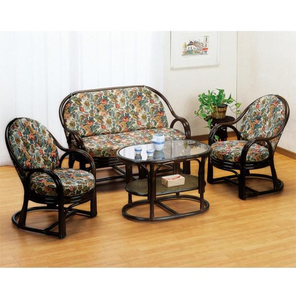 ソファー ソファ ラタン ソファ 籐の椅子 おしゃれ ラタン家具 籐家具 2人掛け ラブチェアー Y-450B (250775)(IE)|msstore-1147|02