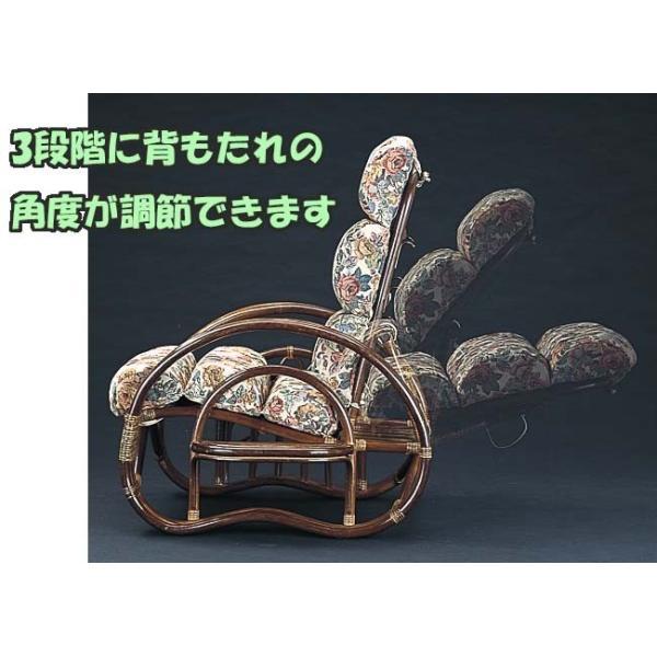 籐の椅子 籐椅子 ラタン 座椅子 ラタンチェア リクライニングチェア 籐家具 ラタン家具 リラックスチェアーとオットマン2点セット A-220Bset IE 250960 msstore-1147 04